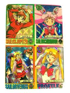 Sailormoon cards mini series vintage collection front and back - BUY 5 pcs, free 1 pc #July100 #postforsbux