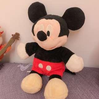 迪士尼 絕版米奇玩偶