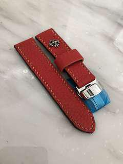 Handmade watch straps 22mm