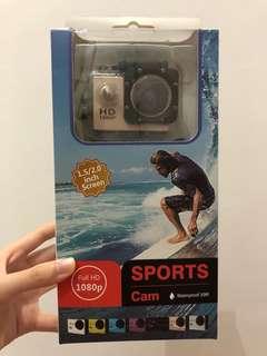 Sports Cam Waterproof HD 1080p