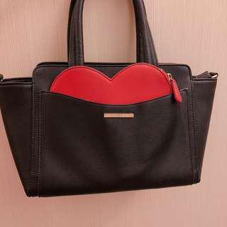 日本帶回 MIIA心型手提包