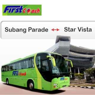 First Coach - Subang Parade to Star Vista