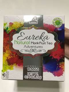 悠莉佳天然甘露羅漢果味之旅茶