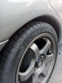 Sport Rim 16 inch with tyres