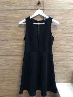 Forever 21 連身裙 Black one piece dress