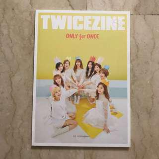 Twice Official Fanclub First Gen Membership Once Jelly Twicezine Photobook Magazine