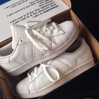 Triple White Superstars