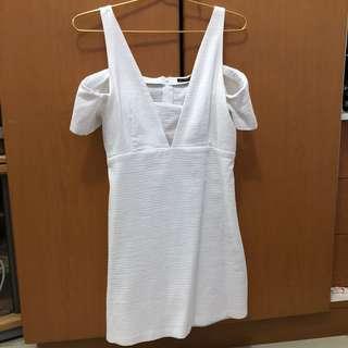 Zara original white dress size L