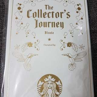 """Starbuck """"The Collector's journey"""" card book"""