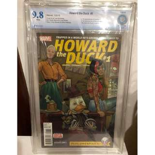 CBCS 9.8 Howard the Duck #1 1st Appearance of Gwenpool, Shocket Raccoon & Linda the Duck