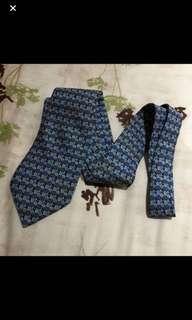 Authentic BN Hermes Men Regular Width Silk Tie