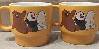 We bare bear glass🐼🐻