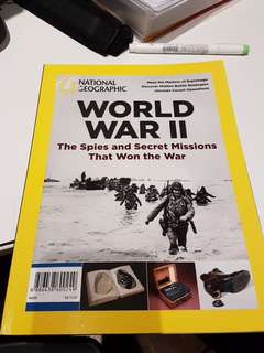 World War II NatGeo Spy Magazine