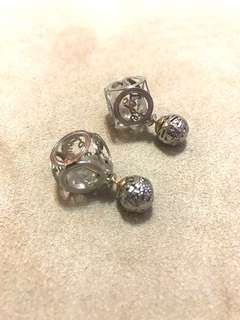 2 sided earrings