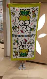 Keroppi青蛙大毛巾
