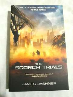 The Scorch Trials - Maze Runner Series