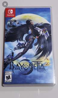 🚚 Bayonetta 2 Nintendo switch