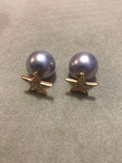 Pearl stars studs