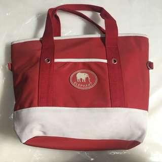 Elephant tote bag used, HARGA PAS, NO RIBET!