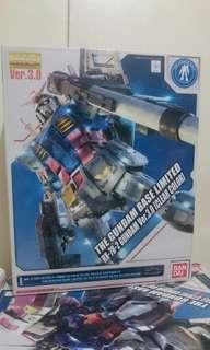 MG Gundam RX-78-2 ver 3.0 (Clear) Gundam Base Limited