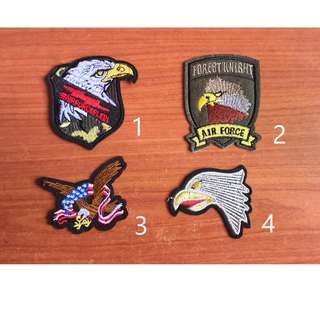 Assorted Iron on Patches