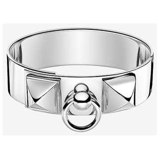 HERMES Collier de Chien Bracelet, Medium Model (New)