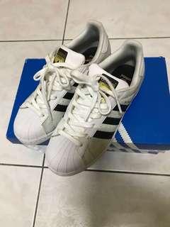 Adidas superstar 金標女鞋