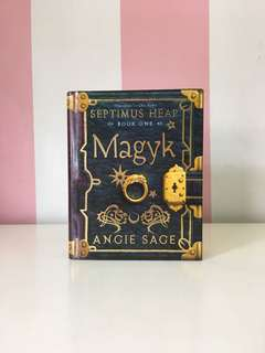 Magyk Septimus Heap by Angie Sage Hard Cover