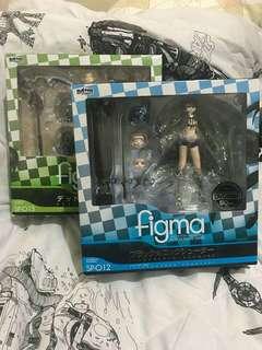 Figma Black Rock Shooter & Death Master SP-012 & SP-013