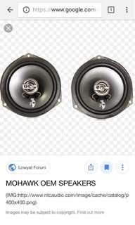 Mohawk door speaker PnP