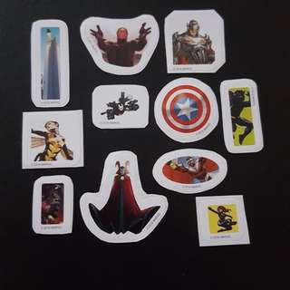🚚 C5C Marvel Set 7 Avengers Sticker Stickers