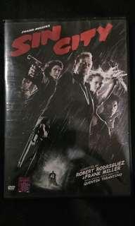 "Original DVD ""SIN CITY"""