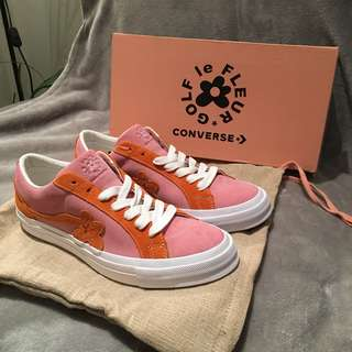 Golf Le Fleur x Converse Candy Pink/ Orange Peel/ White