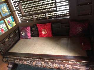 Opium Bed Chinese Antique