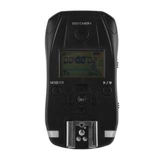 LF821 - 2.4GHz無線遙控觸發32通道閃光定時器閃光燈-用於Camera數碼相機數碼單反相機的