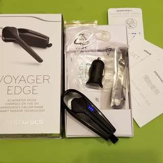 Plantronic Voyager Edge Bluetooth full set with box