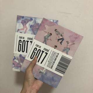 GOT7 Flight Log Departure Album