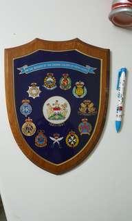 97前紀紀律部隊徽章木盾