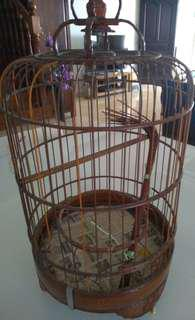 Antique 50 years old Annchipeng Cage