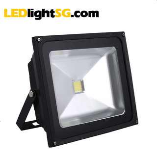 50W LED Floodlight 1yr warranty IP67 water proof outdoor lamp flood light taiwan LED White 6000K