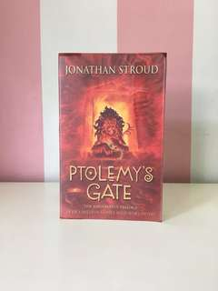 Ptolemy's Gate by Jonathan Stroud Book 3 Paperback