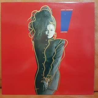 Reserved: Janet Jackson - I Control Vinyl Record