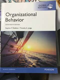Organisational Behaviour by Stephen P Robbins Timothy A. Judge