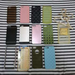 iPhone 5/s ALL 13 CASES FOR 350