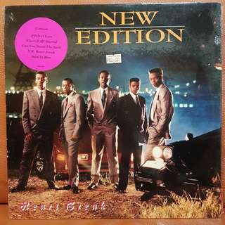 New Edition - Heart Break Vinyl Record