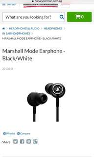 Marshall earpiece
