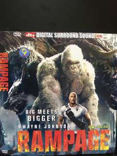 🚚 Dvd English movie. Rampage
