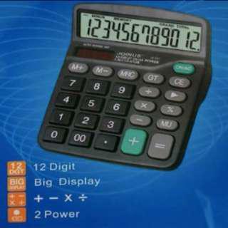 LCD 12 Digit Desktop Calculator