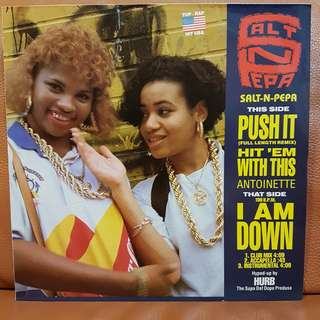 Reserved: Salt-N-Pepa - Push It Vinyl Record