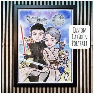 ★ Custom Cartoon Portrait / Caricature ★